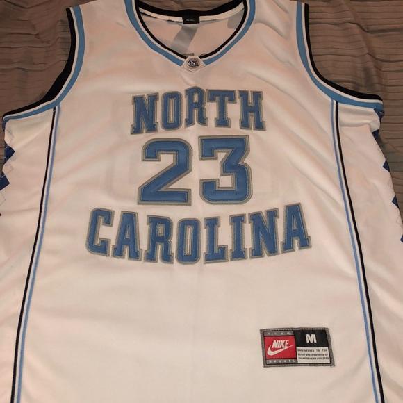 best service d0e1c b6786 Nike UNC michael Jordan jersey.